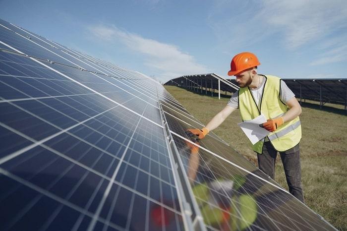 mantenimiento de celdas solares