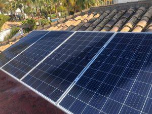 Instalación de placas solares de Social Energy
